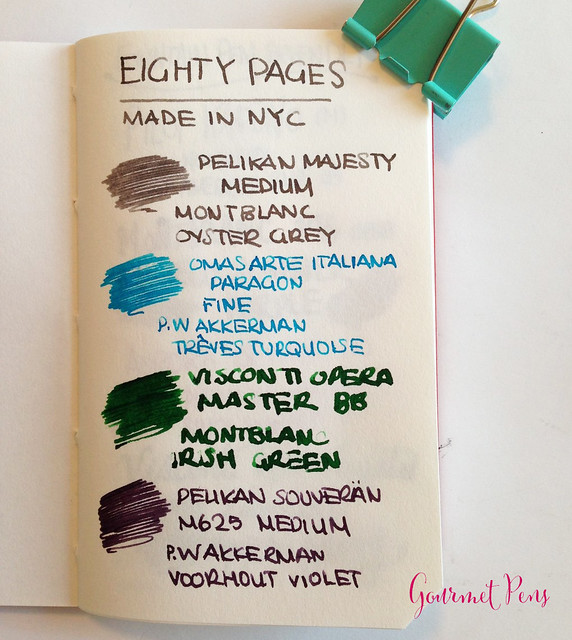 Review: Eighty Pages Made in NYC Notebooks