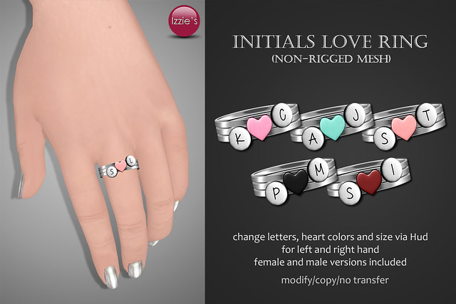 With Love Fair (Initials Love Ring)