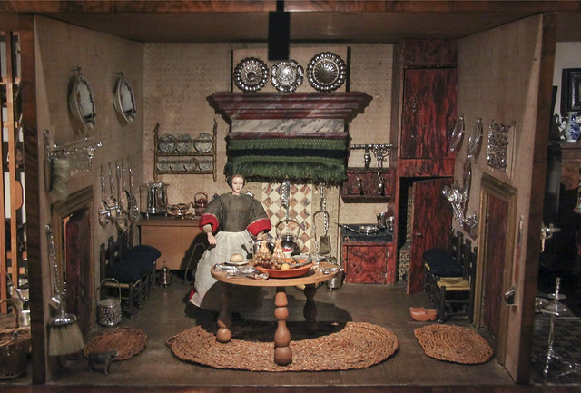 Dolls' House of Petronella Dunois, Amsterdam, c 1676