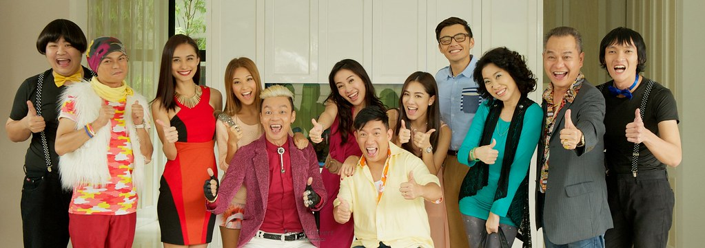 Mahjong King Cast (Stills Credits to Tiffany Yong and CloverFilms)