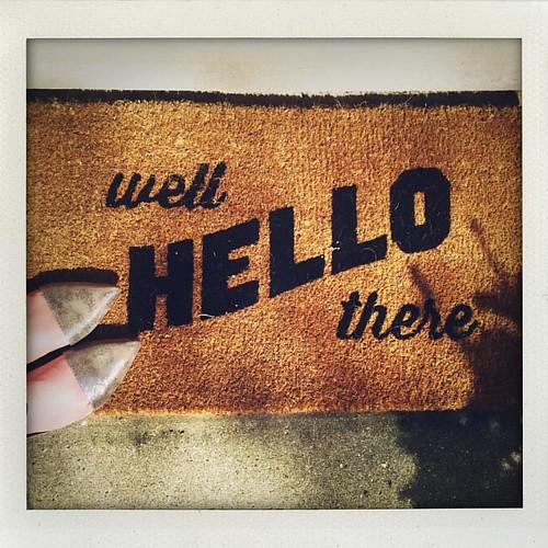 Hello #westelm