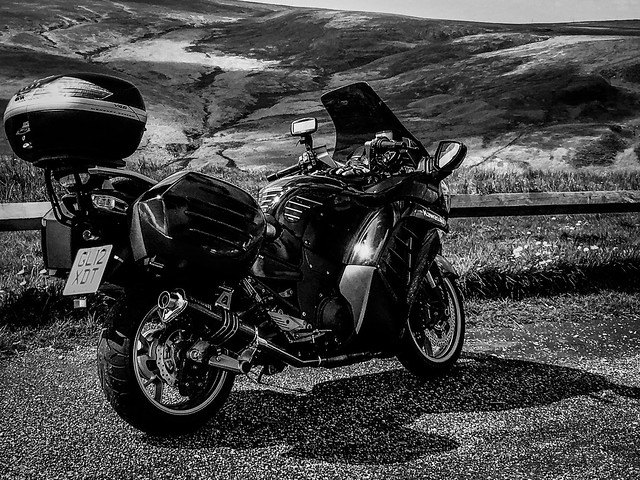 Gtr1400 up on the Pennines