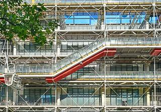 Image of Centre Georges Pompidou near Paris 04. paris france art piano culture exposition rogers artcontemporain centregeorgespompidou cnacgp