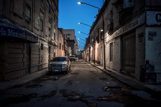 The street walker, Mexico City