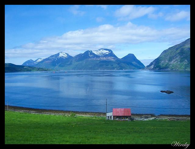 Fiordos noruegos Trondheim Vinjef Valsoy Halsa Molde Alesund - Fiordo de Valsøy