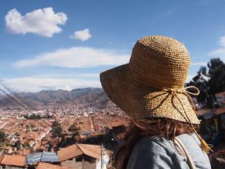 Overlooking town