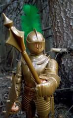 Marx Gold Noble Knight