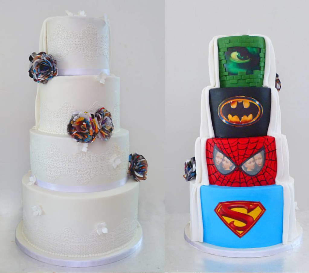 Here Is A Photo Of The Wedding Cake I Had The Great Hono Flickr