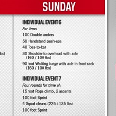 3rd and final day #workouts looking good! #crossfit #regional #2013 #asia #fittest #test #competion
