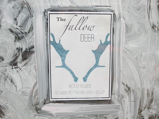 The Fallow Deer - vintage tea room on the way
