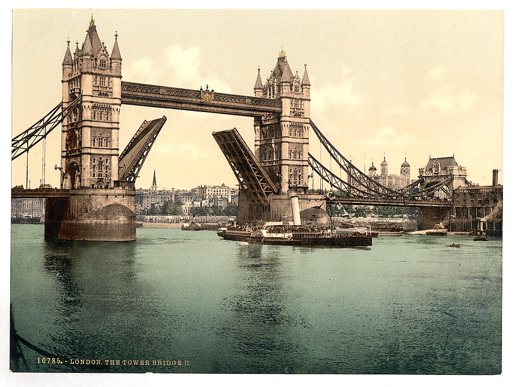 [Tower Bridge, II. (open), London, England] (LOC)