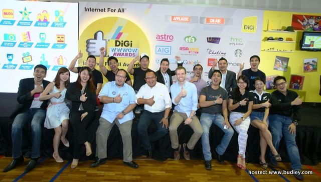 DiGi WWWOW Internet For All Awards 2013