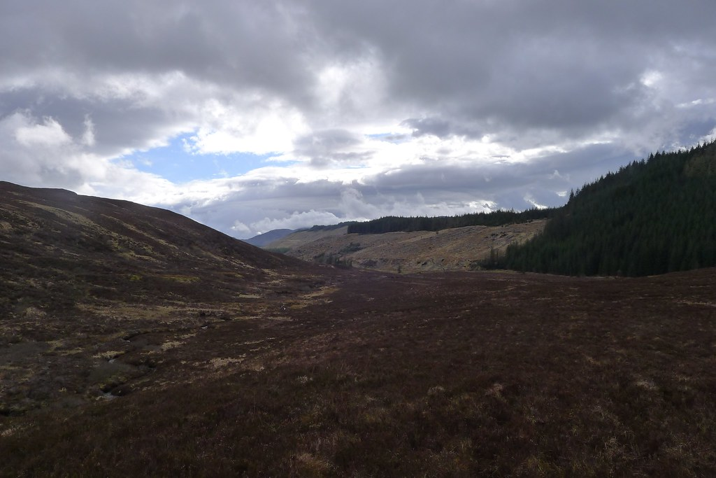 Looking back to Glen Udalain