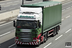 Scania R440 6x2 Tractor - PE12 TXL - Justine Sophie - Eddie Stobart - M1 J10 Luton - Steven Gray - IMG_9713