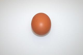 14 - Zutat Hühnerei / Ingredient egg