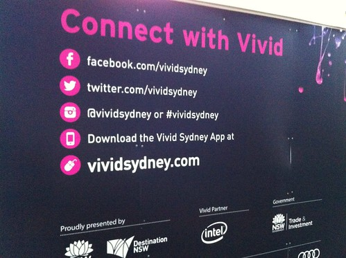 How to connect with #vividideas