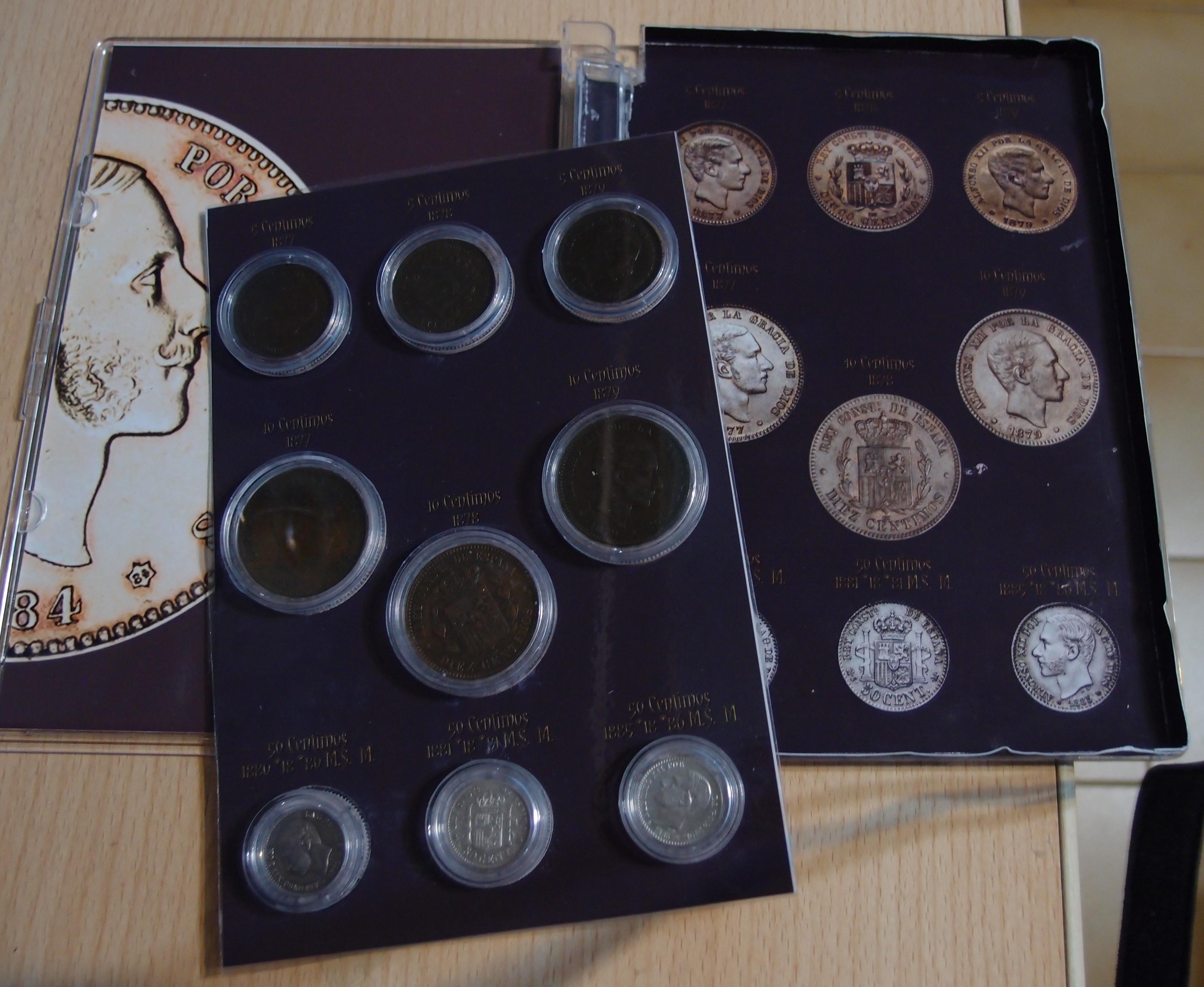 Coleccion Alfonso XII y Monetario 9057838438_3b691f846e_o
