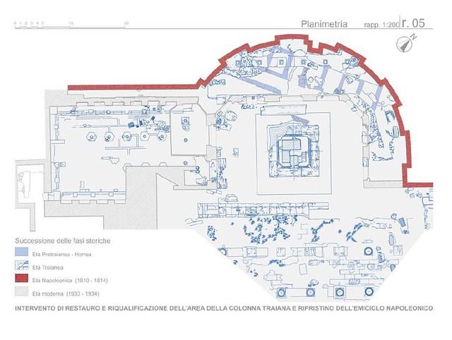ROMA ARCHEOLOGIA e BENI CULTURALI: Ai piedi della colonna di Traiano ecco due edifici più antichi dei Fori, LA REPUBBLICA (21/06/2013).