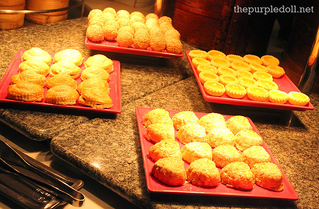 Steam Baskets Chinese Dessert at Spiral Sofitel