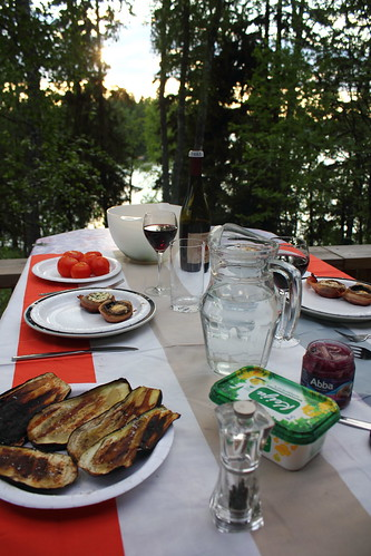 Dinner at the Cottage