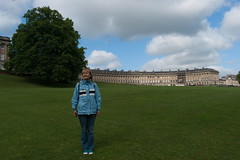 One more view of the Royal Crescent