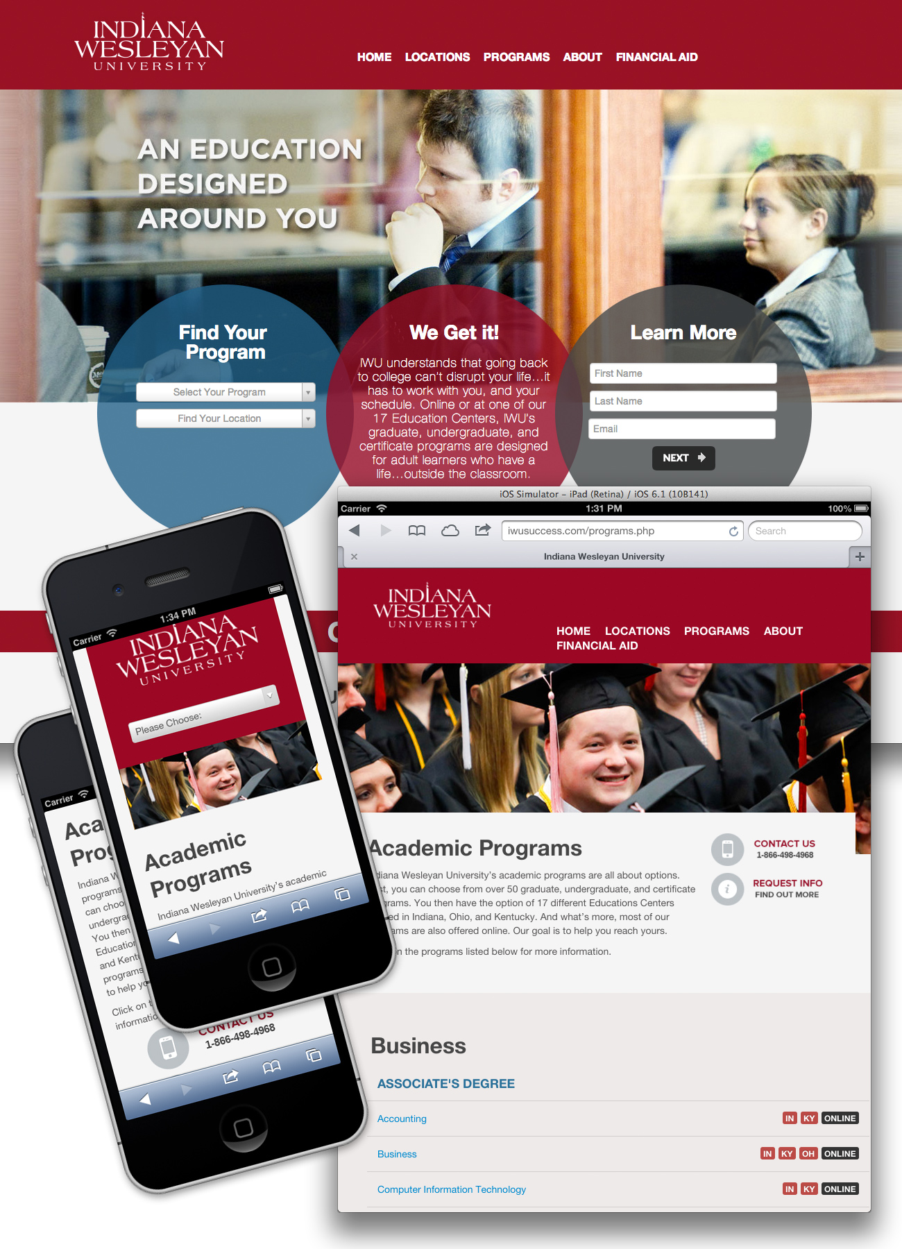 Indian Wesleyan Micro Site