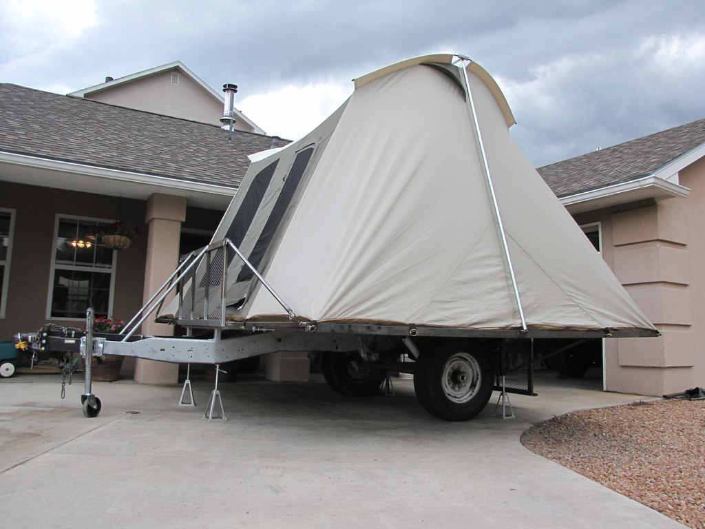 All the benefits of a utility trailer and a tent trailer without the crappy construction of both & Ultimate universal trailer - Pirate4x4.Com : 4x4 and Off-Road Forum