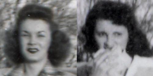 Gloria and Janice