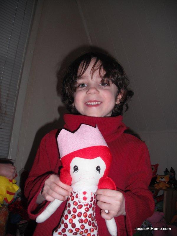 Strawberry-girl!