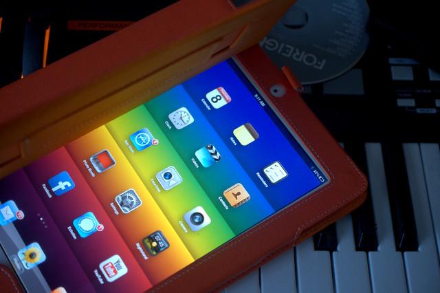 Open iPad