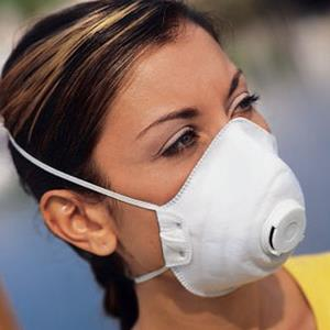 N95 Mask with Exhalation Valve