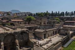 Herculaneum with Vesuvius