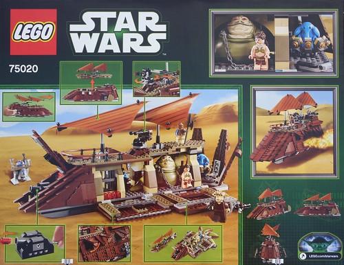 75020 - Jabba's Sail Barge