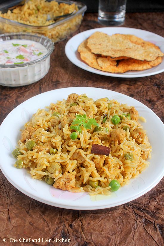meal maker biryani