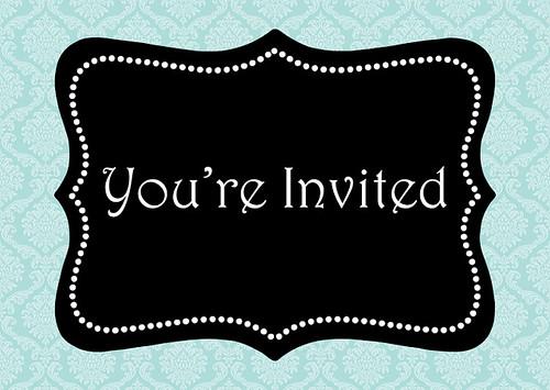 Never turn down an invitation