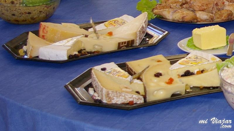 Francia, tabla de quesos