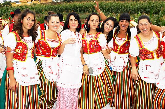 Chicas, Benijos, Romeria, Tenerife