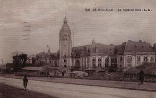 La Rochelle: la gare