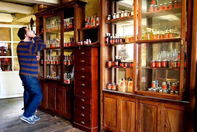 オリビエ・ロランジェのスパイス店。
