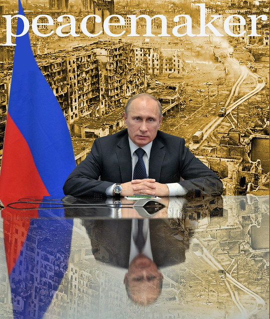 Peacemaker Putin Reflection on Chechnya 1999 and the FSB 'False Flag' Russian Apartment Bombings that triggered yet another war