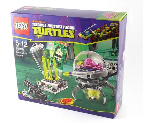Nickelodeon Teenage Mutant Ninja Turtles LEGO 79100 Kraang Lab Escape 01