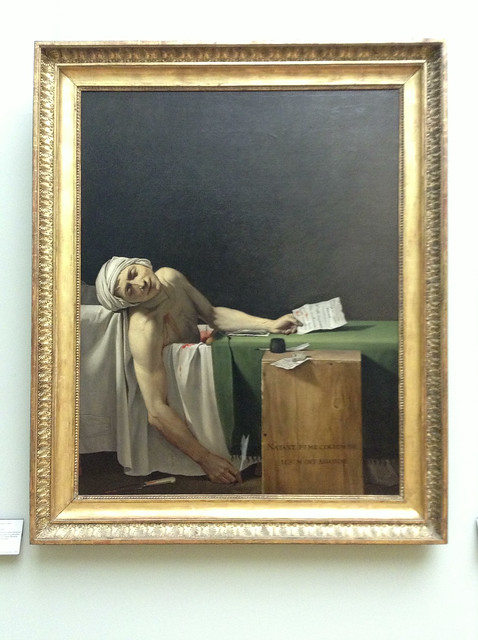 The Death of Marat - David