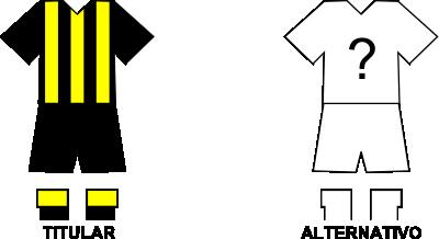 Uniforme Club Guaraní de Fram