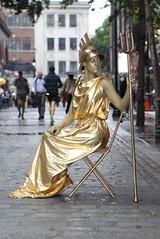 Living Britannia Statue