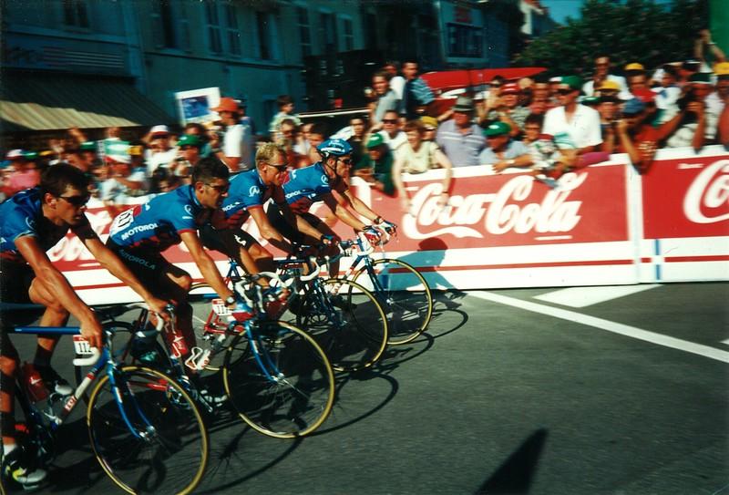 Motorola Team - Stage 16 1995 Tour de France