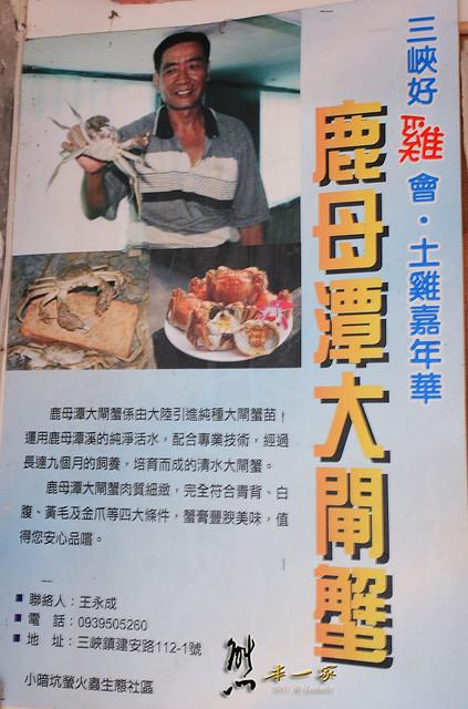 [三峽美食]山水畔休閒生態園區|鹿母潭大閘蟹生態園區|戲水烤肉露營~大啖鮮美本土養殖大閘蟹