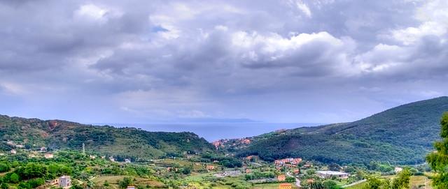 Rio nell'Elba, panorama