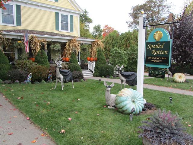 USA  Maine  Ogunquit  Halloween decorations Flickr - Halloween Decorations Usa