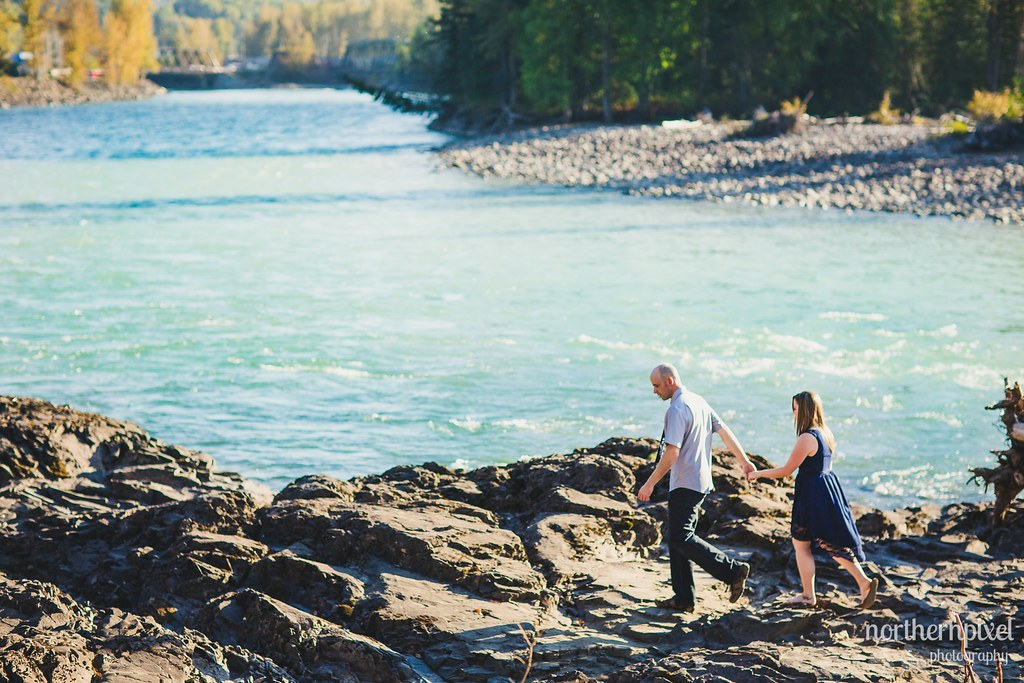 Engagement Session at Eddie Park, in Telkwa BC