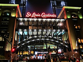 Busch Stadium after a Night Game - St. Louis, MO